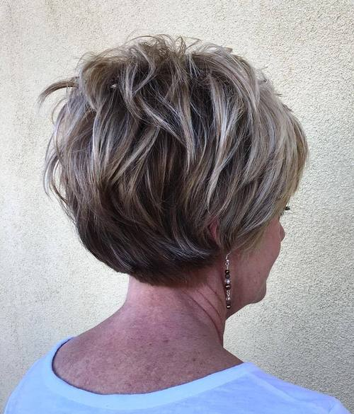 Modern Short Hair Over 60 Design Ideas For Thin Women