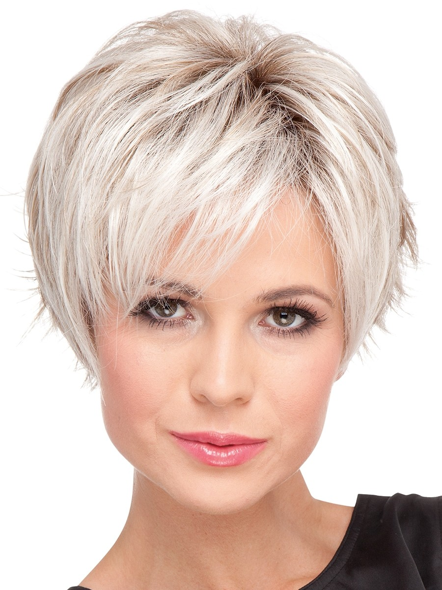 Modern Model Trends – How To Make A Short Hair Wigs Design Look Asymmetrical