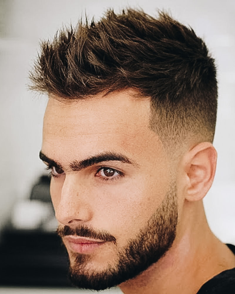 Short Male Haircuts For the Modern Day Man