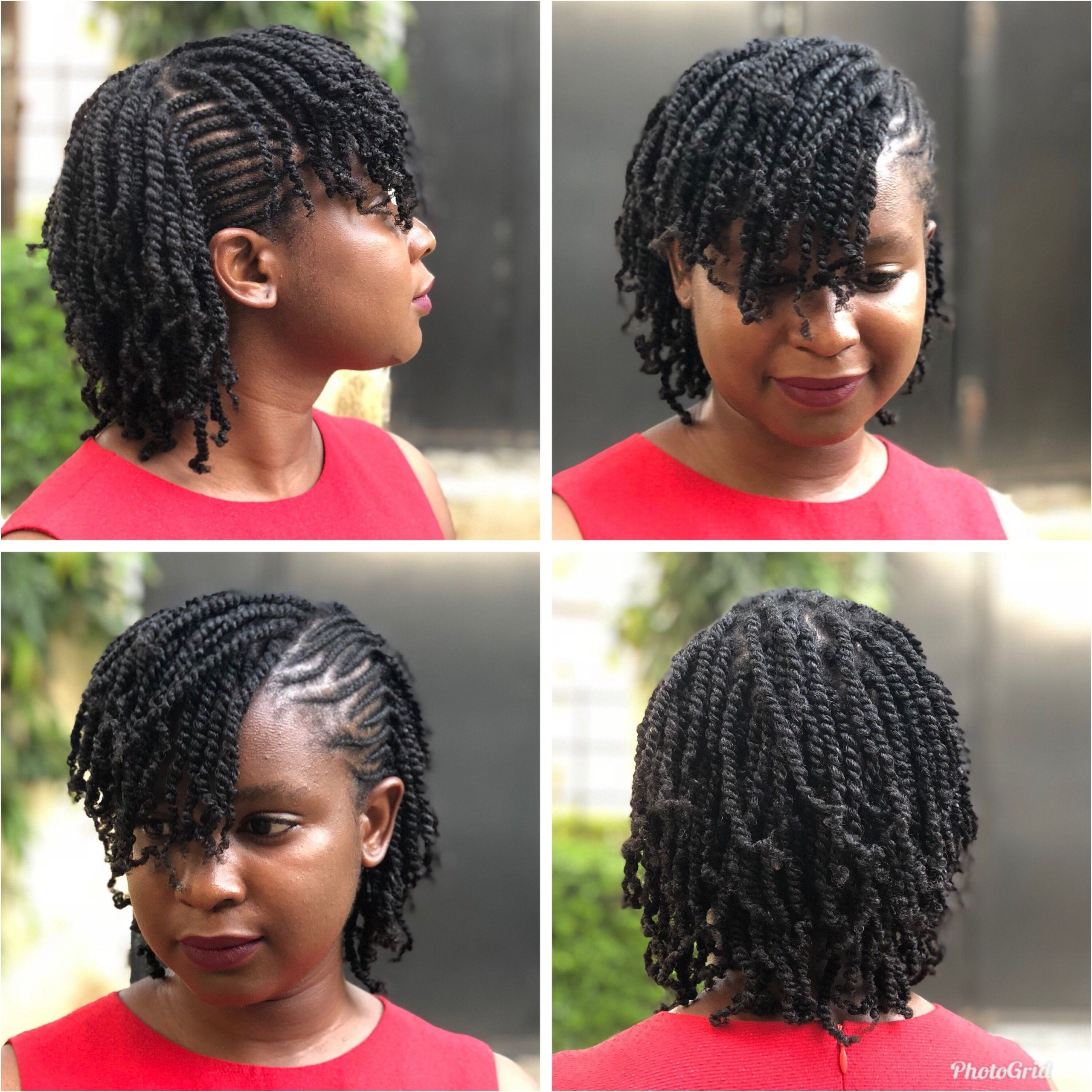 Short Natural Hair Twist Styles – A Few Beautiful Styles For Women