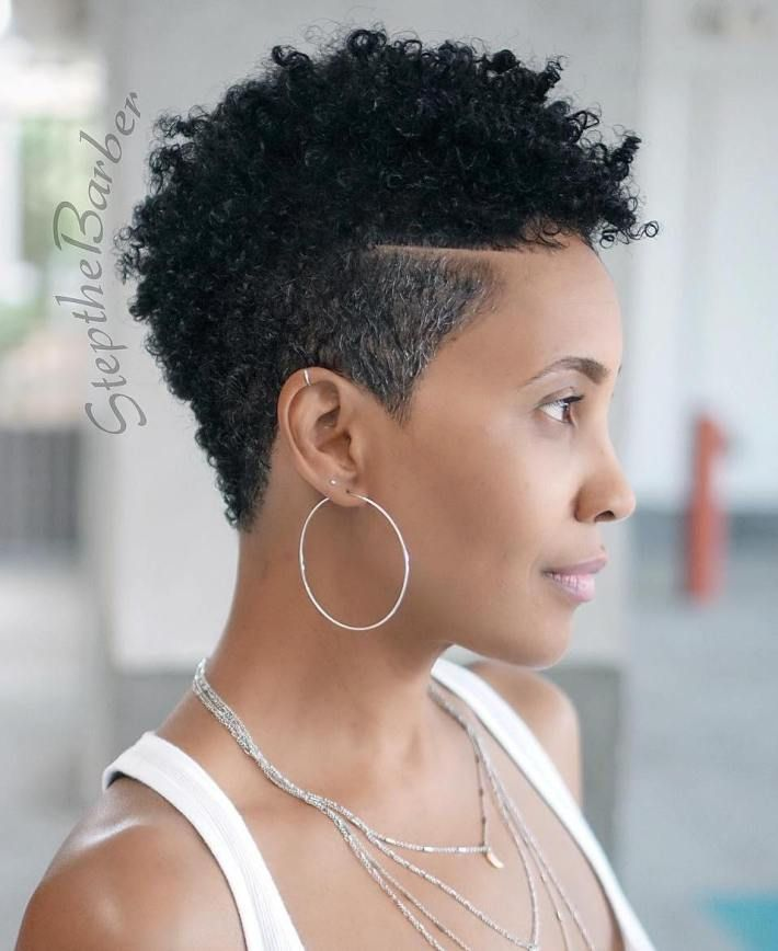 Some Amazing Short Natural Hairstyles For Black Hair