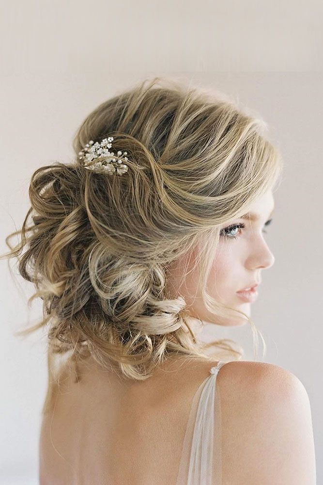 Beautiful Styles for Short Wedding Hair