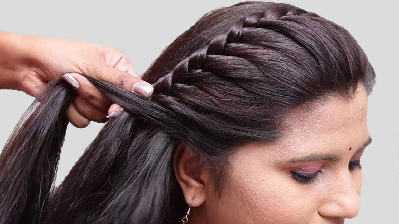 Side Braid Hairstyles – A Simple Design Idea