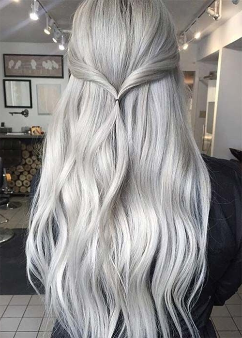 Beautifying That With Beautiful Silver Grey Hair Styles