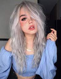 Silver Hair Girl Cut – Popular Style For 2021
