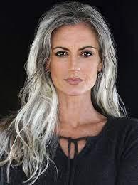 Great Silver Hair Women Styles
