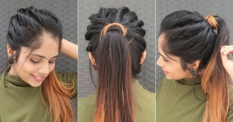 Some Simple Hairstyle For Girls