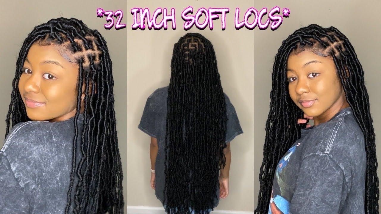 Model Ideas Using Soft Locs Hair Stitches