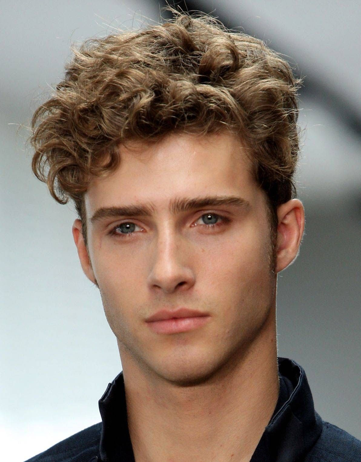 Beautiful Styles For Men With Thick Curly Hair