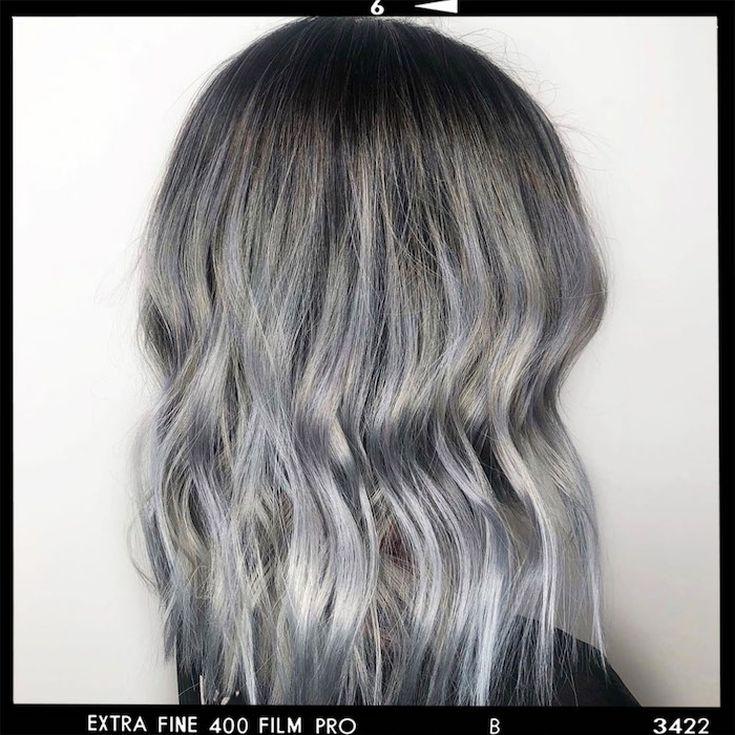 Titanium Hair Color Ideas for Women