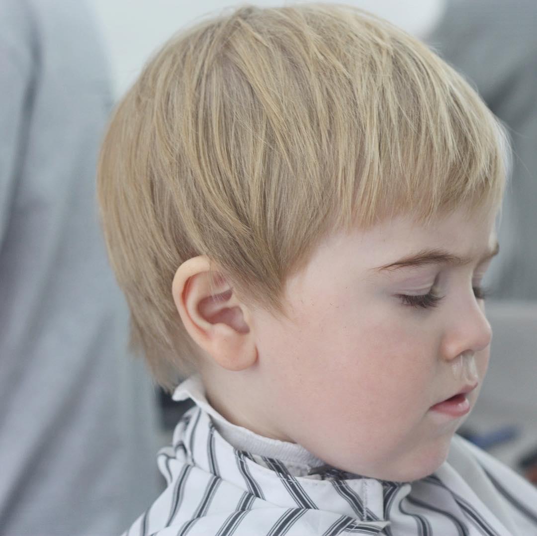 Modern Model For Toddler Boy Hairstyles