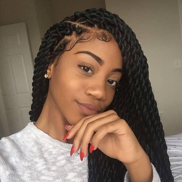 The Latest Twist Braids Hairstyles