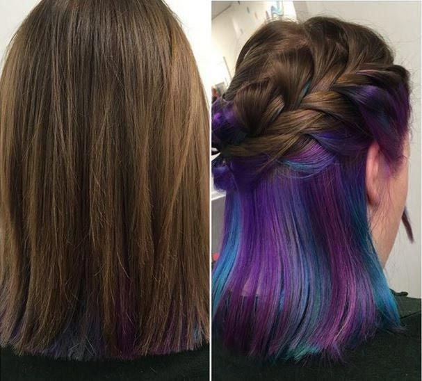 Under Hair Color – The Secret To A Better Looking Model