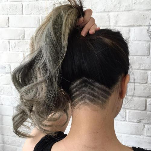 Modern Design Ideas For Undercut Women Long Hair