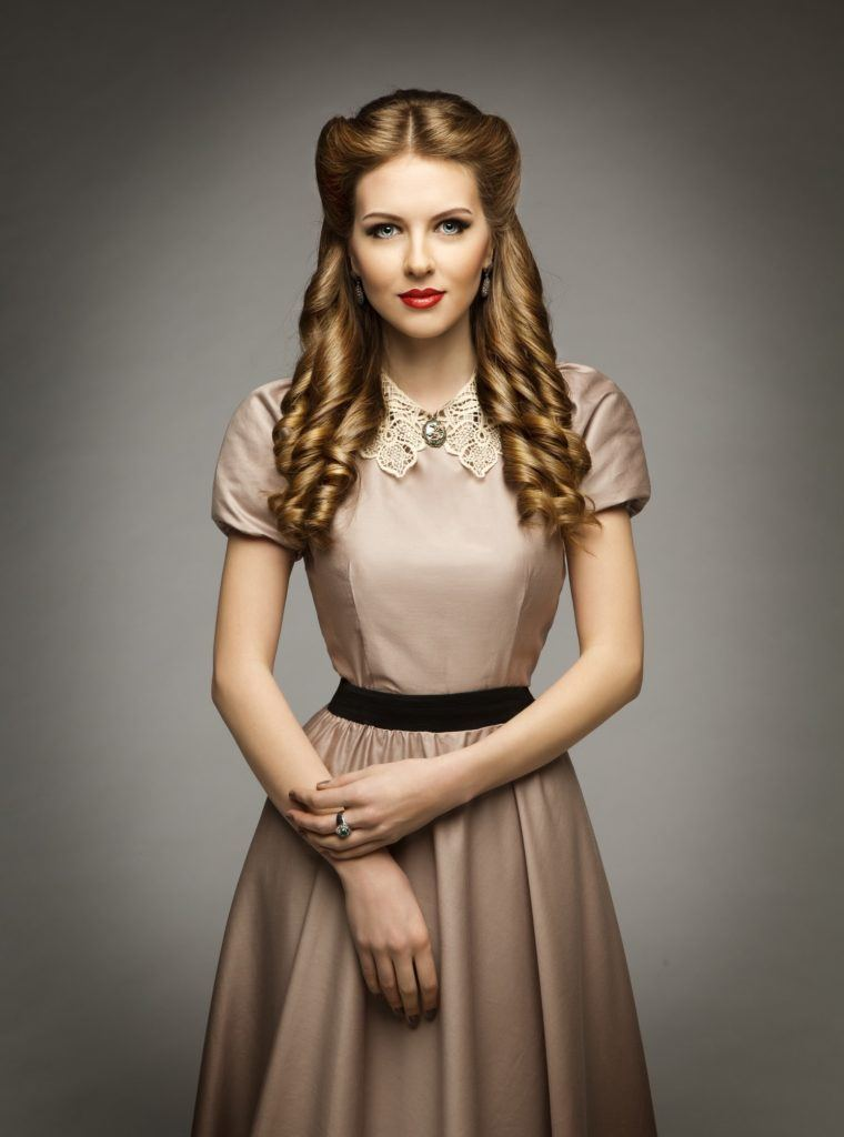 Vintage Hairstyles For Curly Hair