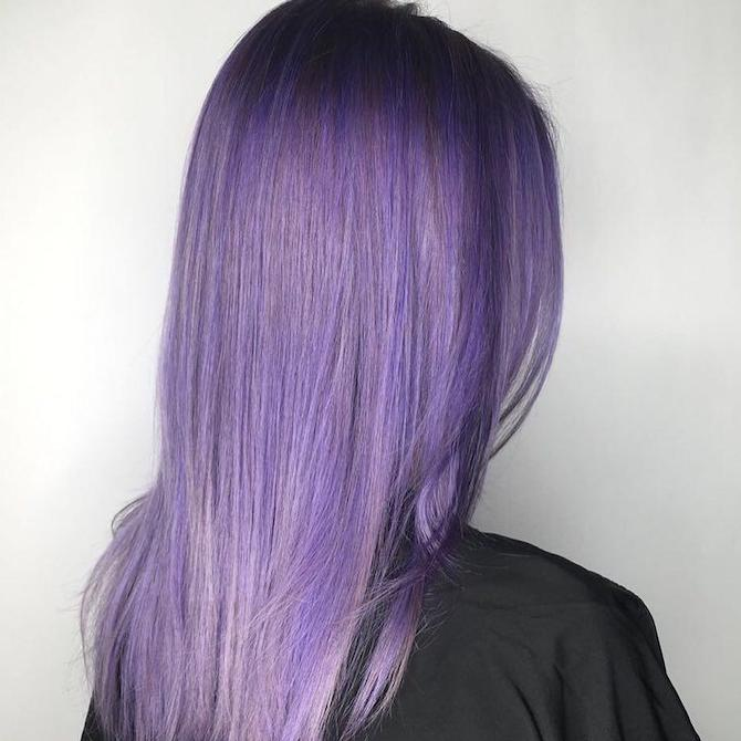 How to Choose Beautiful Styles For Women With Beautiful Violet Hair