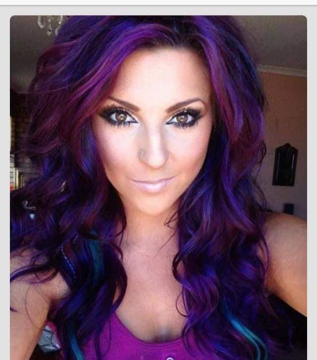 Gray, Black, Or Blue – Get Your New Style With a Violet Hair Color