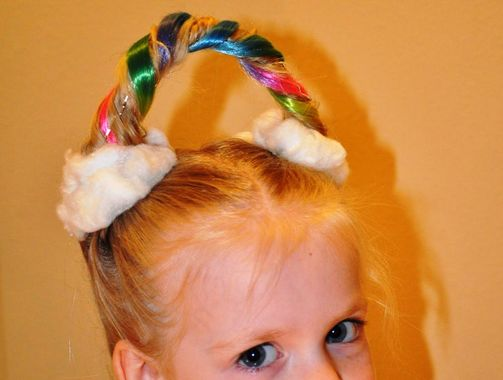 Looking For Wacky Hair Day Ideas?