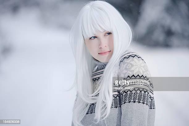 White Hair Girl Styles – Model Ideas For Women