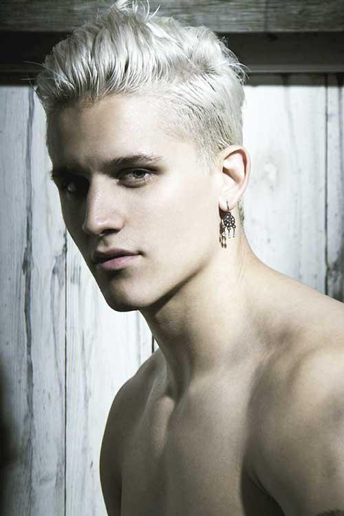 Latest Model For Men With White Hair