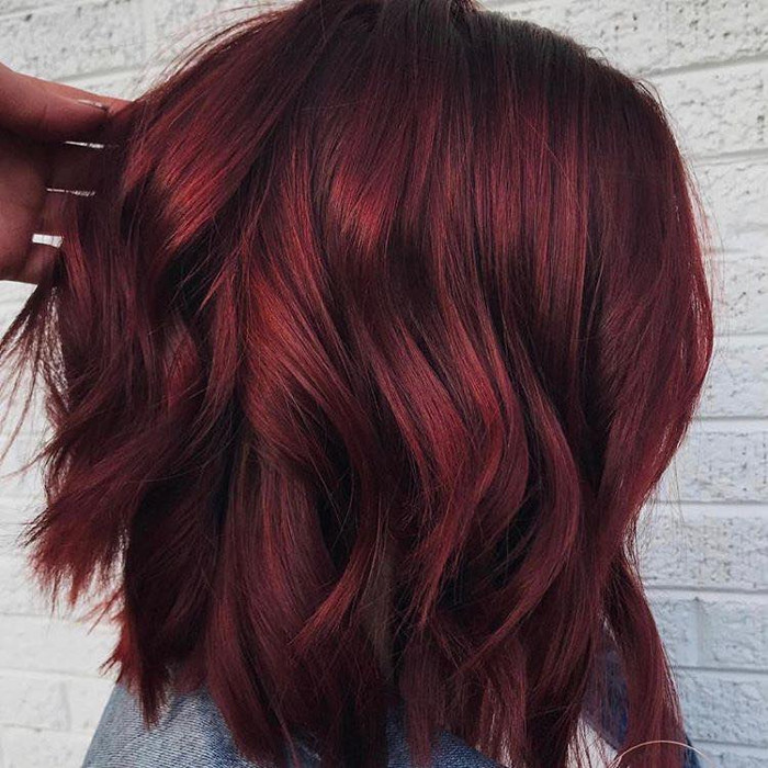 Wine Hair Color – The Hottest Trend