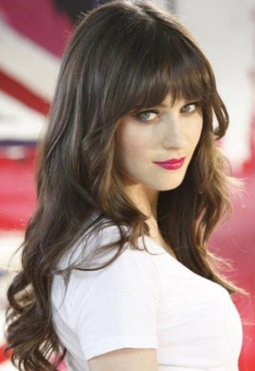Zooey Deschanel Hair Model Ideas